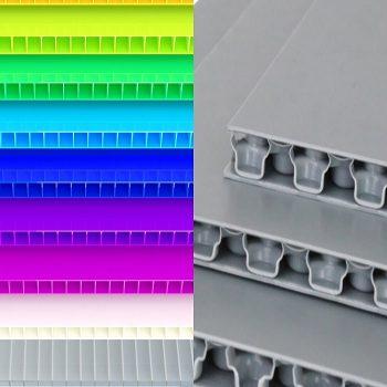 ورق پلی پروپیلن ورق پلی پروپیلن دومین ورق پلاستیک پرمصرف جهان PP Corrugated Sheet and PP Honeycomb Bubble Guard Board 350x350