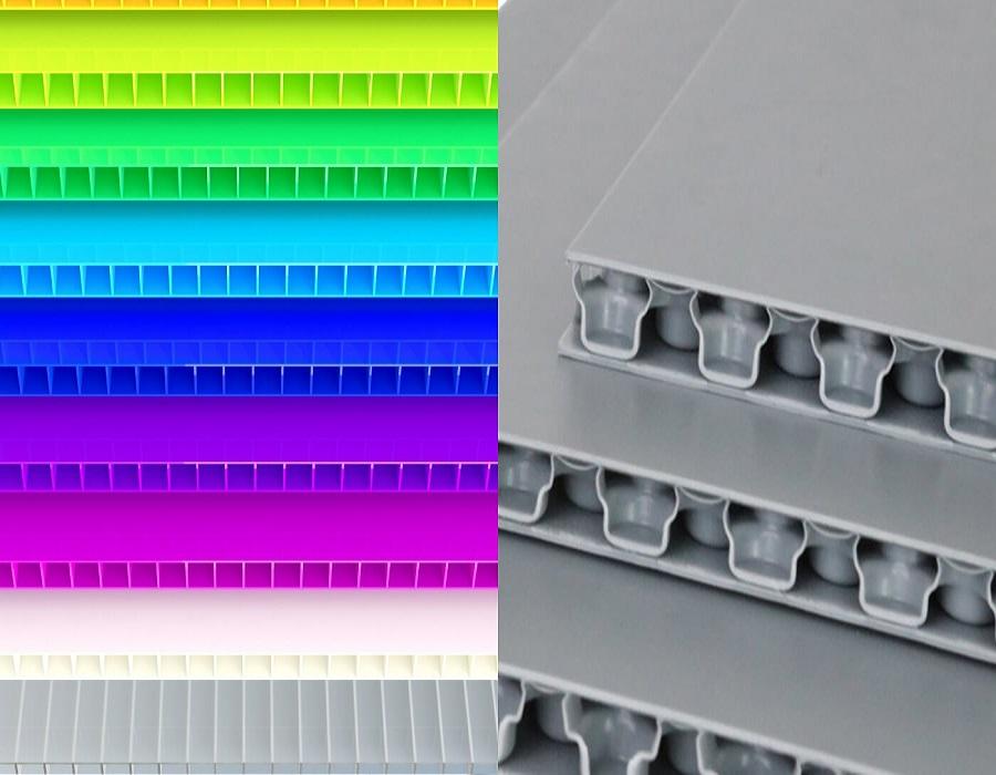 ورق پلی پروپیلن ورق پلی پروپیلن دومین ورق پلاستیک پرمصرف جهان PP Corrugated Sheet and PP Honeycomb Bubble Guard Board